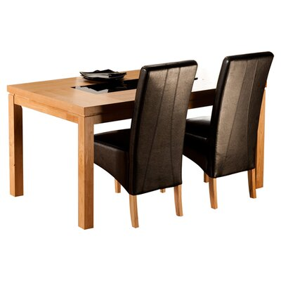 All Home Panbride Dining Table in 90 cm W × 150 cm L