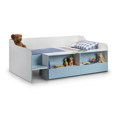 All Home Carla Mid Sleeper Bed with Storage