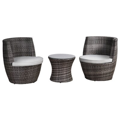 All Home Beltana 2 Seater Bistro Set with Cushions