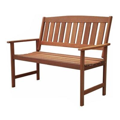 All Home Stanley 2 Seater Wooden Garden Bench