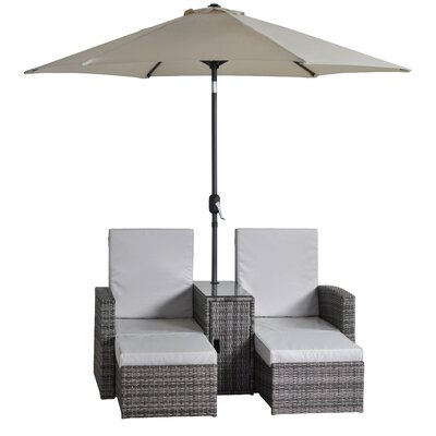 All Home Beverley Companion Set with Cushions
