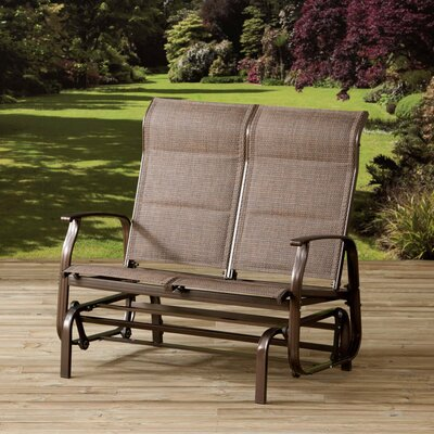 All Home Mizar Padded Double Rocking Chair with Cushions
