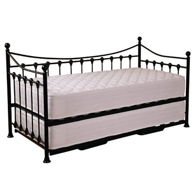 All Home Skiros Trundle Day Bed Frame