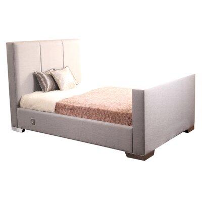 All Home Milton Upholstered Bed Frame