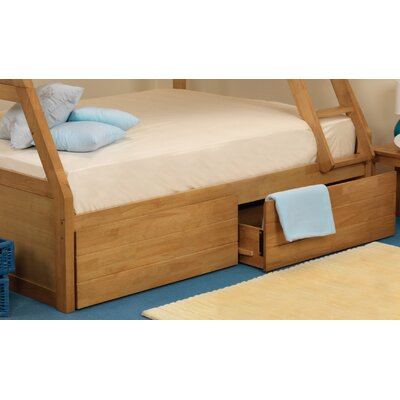 All Home Kinnaird Bunk Bed Underbed Storage Drawer