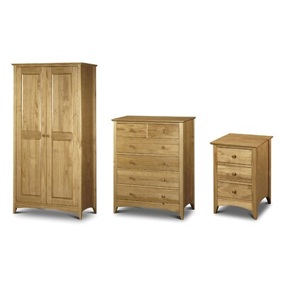 All Home Stavely Bedroom Set