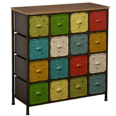 All Home Barbel 16 Drawer Chest