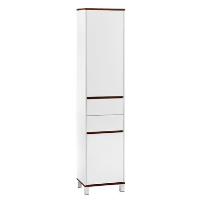 All Home Chelsea 40 x 180cm Free Standing Tall Bathroom Cabinet