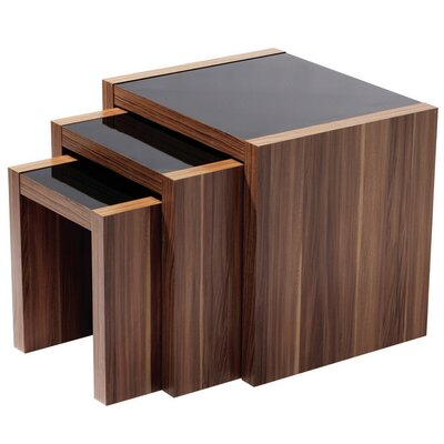 All Home Freelar 3 Piece Nest of Tables