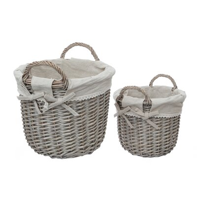 All Home Mesa 2 Piece Basket Set