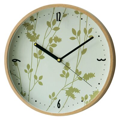 All Home 31cm Round Wall Clock