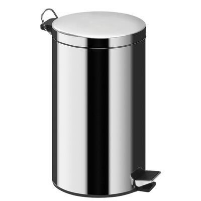 All Home Pedal Bin with Bucket