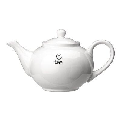 All Home Charm 1.25L China Teapot