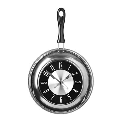 All Home Frying Pan Wall Clock