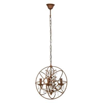 All Home Twig 4 Light Globe Pendant