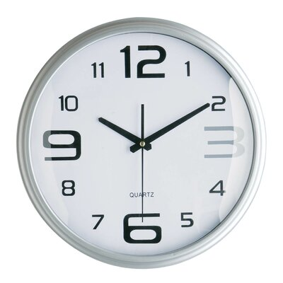 All Home 36cm Wall Clock with Large / Small Numbers