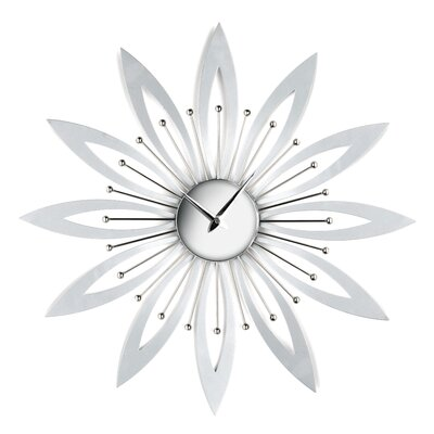 All Home 50cm Flower Wall Clock