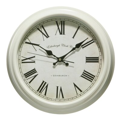 All Home 36cm Traditional Wall Clock