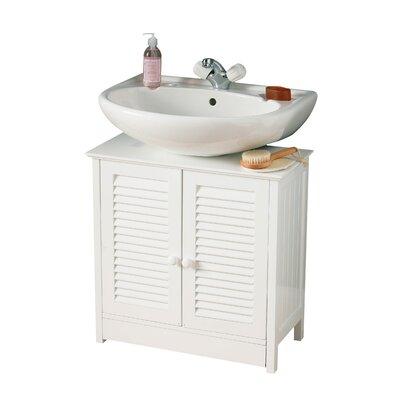 All Home 60cm Vanity in White
