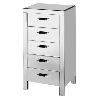 All Home Vincenzo 5 Drawer Chest of Drawers