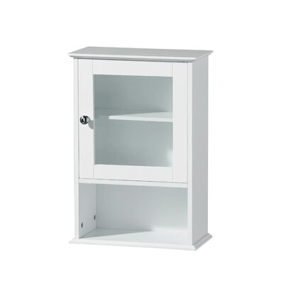 All Home 35 x 51cm Wall Mounted Cabinet