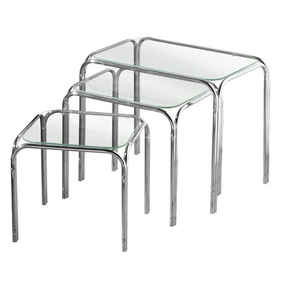 All Home 3 Piece Nest of Tables