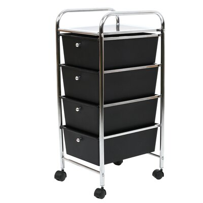 All Home Utility Cart with 4 Drawers