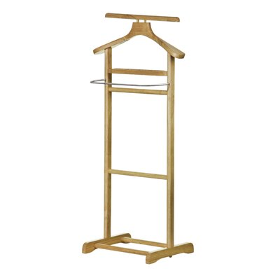 All Home Stainless Steel Clothes Valet Stand