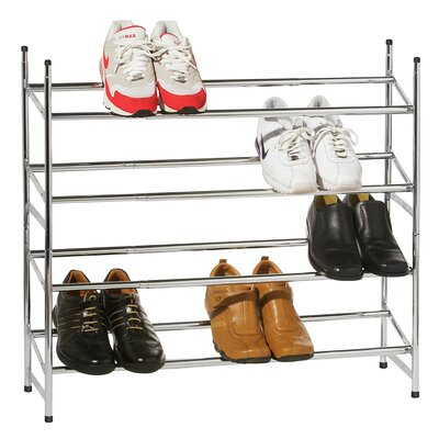 All Home 4 Tier Shoe Rack