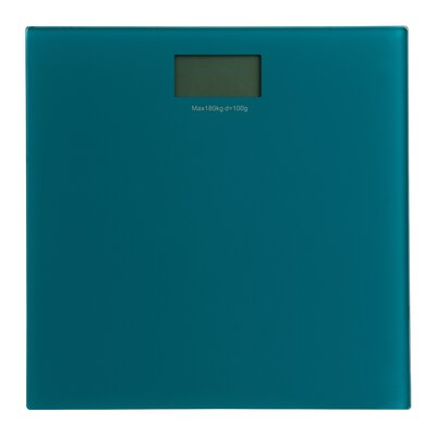 All Home 30 cm Bathroom Scale with Tempered Glass
