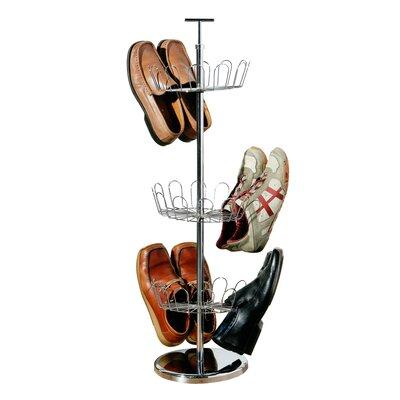 All Home Revolving Shoe Rack