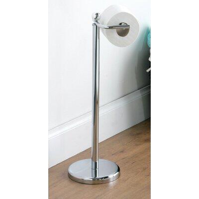 All Home Freestanding Toilet Roll Holder