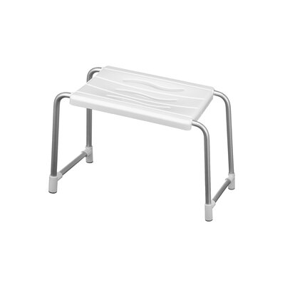 All Home Metal Free Standing Shower Chair