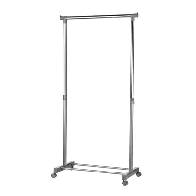 All Home 152 cm H x 80 cm W x 43 cm Clothes Rail Valet Stand