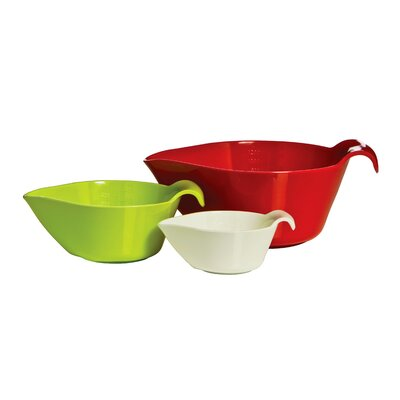 All Home 3 Piece Measuring Bowl Set