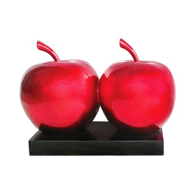 All Home Double Apple Sculpture