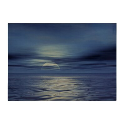All Home Sea Photographic Print on Canvas
