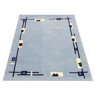 All Home Blue Area Rug