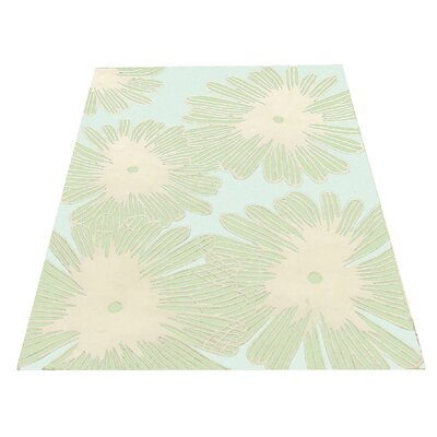 All Home Green Area Rug