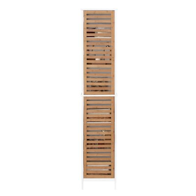 All Home 34 x 170cm Free Standing Tall Bathroom Cabinet