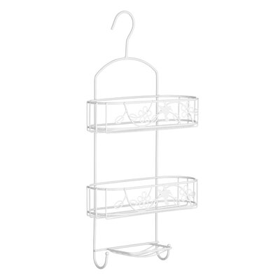 All Home Paradise Metal Hanging Shower Caddy