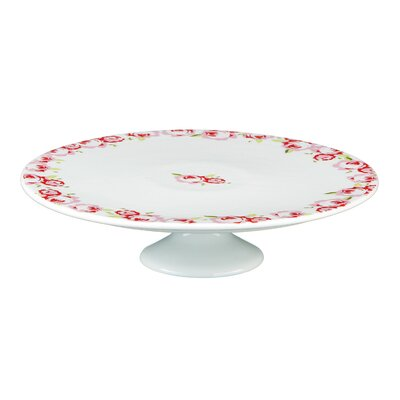 All Home Rosa Porcelain Cake Stand