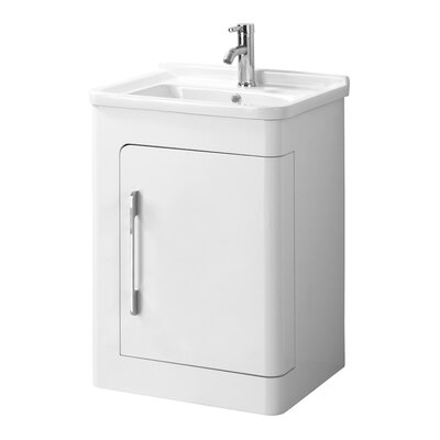 All Home 57cm Single Vanity Set