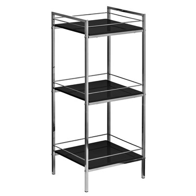 All Home Low Narrow 84cm Accent Shelves