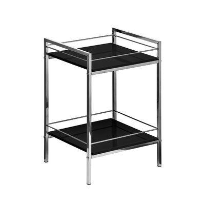 All Home Low Narrow 51cm Accent Shelves