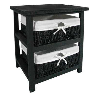 All Home Maize 2 Drawer Chest