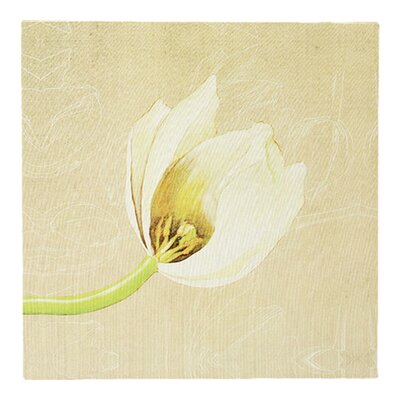 All Home Flower Graphic Art on Canvas