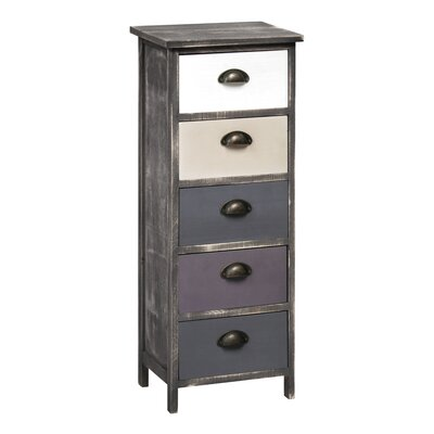 All Home Urban Loft  5 Drawer Chest of Drawers