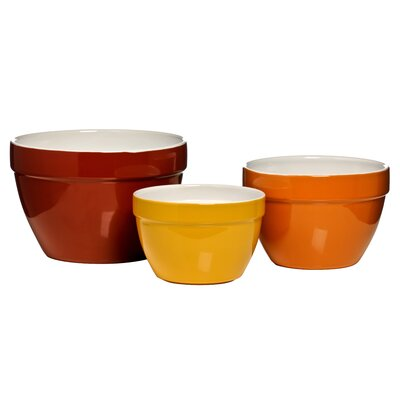 All Home 3 Piece Mixing Bowl Set