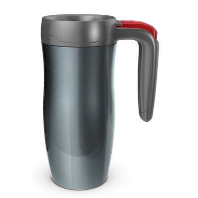 All Home Randolph 8cm Vacuum Insulated Autoseal Mug with Button Lock